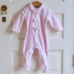 Jacadi Pink winter onesie